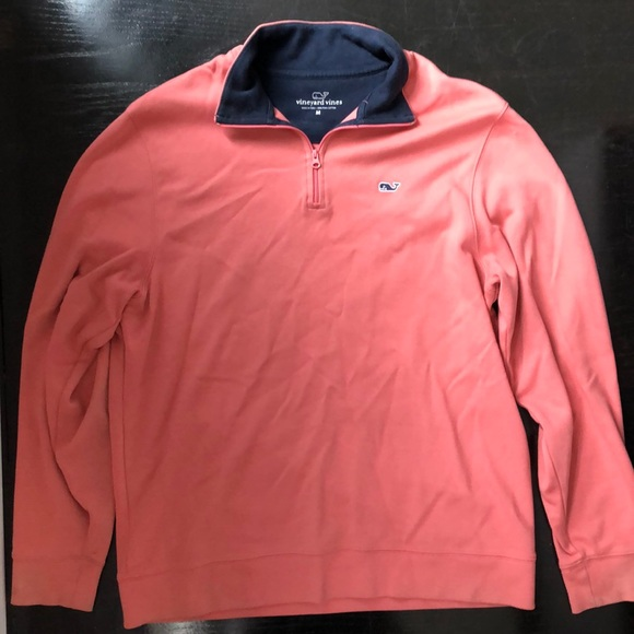 Vineyard Vines Other - Men Vineyard Vines Nantucket red half zip pullover